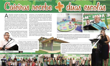Caieiras recebe + duas escolas
