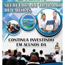 Semudec de Caieiras, em parceria com o CIEE, promove palestra para alunos da Rede  Estadual de Ensino