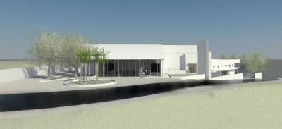 Área do Novo Hospital de Caieiras recebe serviços de terraplanagem