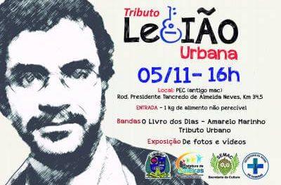Secretaria da Cultura de Caieiras realizará o Tributo à Legião Urbana no dia 5 de novembro
