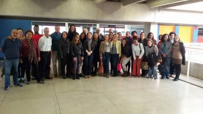 Equipe da Secretaria de Desenvolvimento Social de Caieiras participou de oficina do CapacitaSUAS