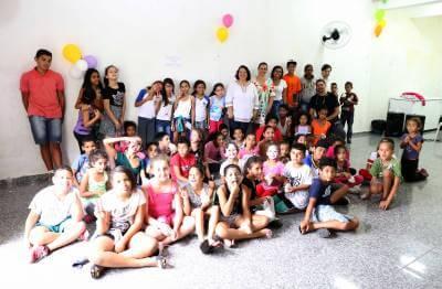 Cras Norte, de Caieiras, promoveu confraternização