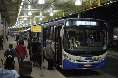 Terminal Rodoviário de Francisco Morato recebe nova iluminação