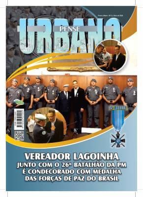 Vereador Lagoinha junto com o 26º Batalhão da PM é condecorado com Medalha das Forças de Paz do Brasil