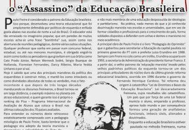 """Paulo Freire: o """"Assassino"""" da Educação Brasileira"""