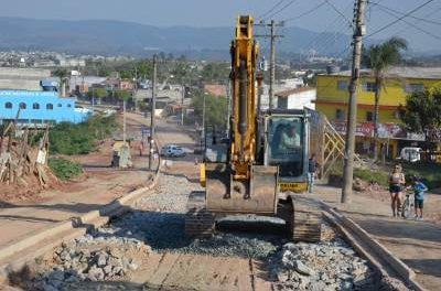 Revitalização na Avenida Afonso Moreno chega à fase de pavimentação