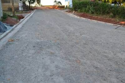 Obras do Corredor de ônibus do Jardim Vassouras II seguem com sistema de drenagem