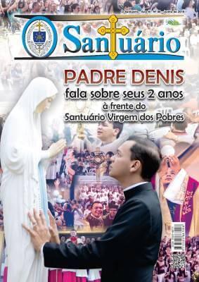 Padre Denis fala sobre seus 2 anos à frente do Santuário Virgem dos Pobres