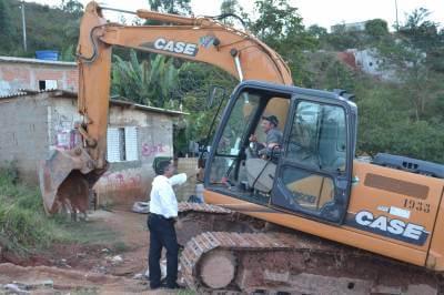 Rua Rondônia no Parque 120 passa por obras do Programa  Mais Asfalto