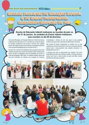 Escolas Municipais de Educação Infantil e de Ensino Fundamental realizaram reuniões de pais