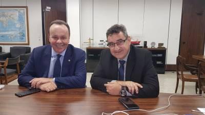 Gersinho Romero firma parcerias com o Ministério das Cidades para trazer melhorias para Caieiras