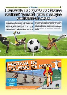 """Secretaria de Esporte de Caieiras realizará """"peneira"""" para a seleção caieirense de futebol"""