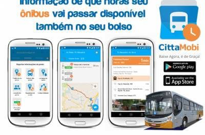 Inovação: Aplicativo mostra localização dos ônibus municipais de Caieiras