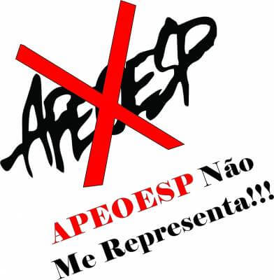 APEOESP não me representa… APEOESP me envergonha!