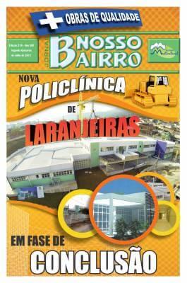 + Obras de Qualidade Nova Policlínica de Laranjeiras em Fase de Conclusão