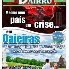 Mesmo num país em crise…  Em Caieiras, sobram oportunidades de empregos para jovens com formação