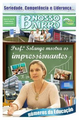Profª Solange mostra impressionantes numero da educação