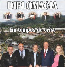 Diplomacia: Em tempos de crise, prefeito e vice conseguem mais verba estadual para Caieiras