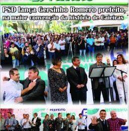 PSD lança Gersinho Romero como pré-candidato a prefeito, na maior convenção da história de Caieiras