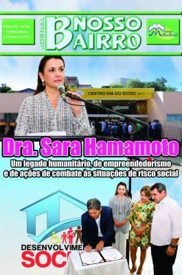 Dra. Sara Hamamoto. Um legado humanitário, de empreendedorismo e de ações de combate às situações de risco social