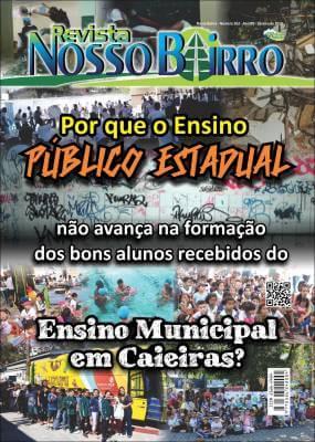 Por que o Ensino Público Estadual, não avança na formação dos bons alunos recebidos do Ensino Municipal em Caieiras?