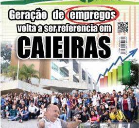 Geração de empregos volta a ser referencia em Caieiras.