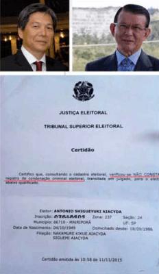 Boatarias contra Aiacyda em Mairiporã lembram boatarias contra Hamamoto em Caieiras nas eleições de 2012