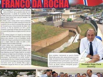 Enquanto o Governo Federal só promete, Governo do Estado continua entregando grandes obras em Franco da Rocha