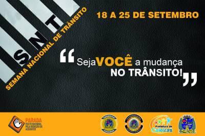 Departamento de Trânsito de Caieiras já deu início à campanha da Semana Nacional do Trânsito