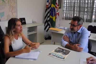 Prefeito de Caieiras com a prefeita regional de Perus buscam soluções conjuntas