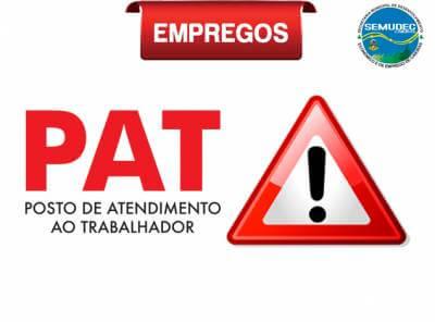 PAT Caieiras abre processos seletivos para diversas vagas nas áreas de produção e logística