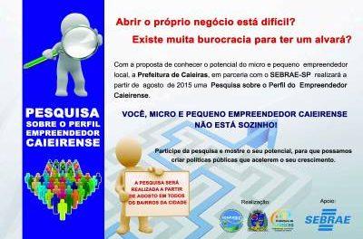 Sebrae Móvel estará em Caieiras nesta terça-feira
