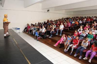 Departamento de Trânsito de Caieiras intensifica ações de conscientização durante a Semana Nacional do Trânsito