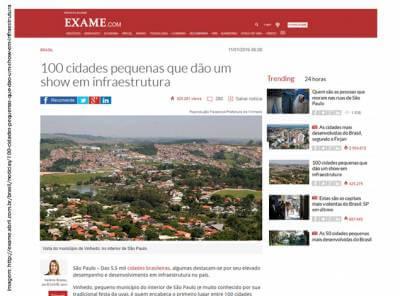 Com trabalho e planejamento, Administração Roberto Hamamoto e Gersinho Romero faz Caieiras ficar entre as 100 cidades de pequeno porte com melhor infraestrutura do Brasil