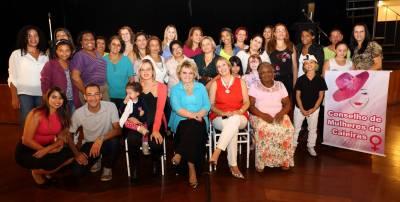 Conselho Municipal dos Direitos da Mulher de Caieiras realizou evento no Centro Cultural