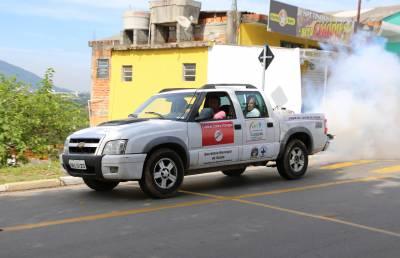 Unidade de Controle da Dengue continua circulando pelos bairros
