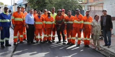 Convênios firmados entre a Prefeitura de Caieiras e o Ministério das Cidades: recapeamento de vários bairros