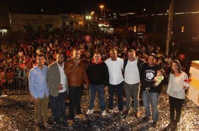 9ª Festa das Mães do Vereador Hélio Gomes reúne milhares de pessoas no centro de Francisco Morato