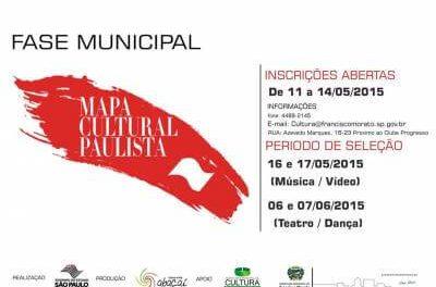 Mapa Cultural Paulista inscreve artistas em Francisco Morato