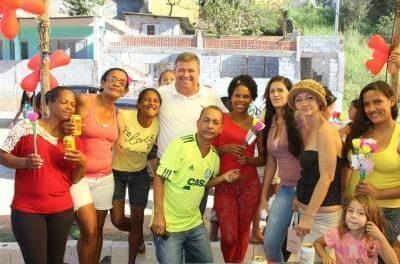 Marcelo Cecchettini e Vereador Joãozinho participam de Festa das Mães no Batista Genari