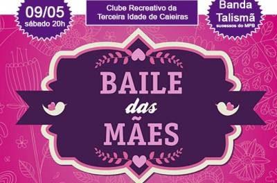 Clube da Terceira Idade de Caieiras realizará baile em comemoração ao Dia das Mães