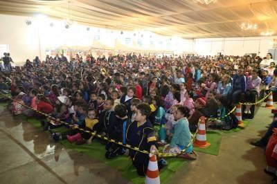 Secretaria de Educação de Caieiras realizou a 8ª Feira do Livro