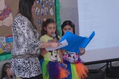 Emef Marina Vieira do bairro Morro Grande realiza 1ª etapa do Festival de Poesia