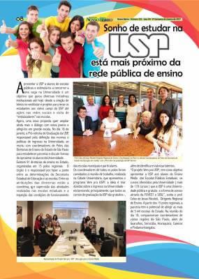 Sonho de estudar na USP está mais próximo da rede pública de ensino