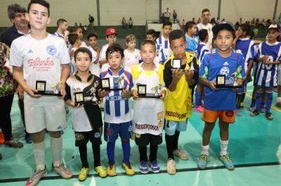 Esparta e Leões venceram o Campeonato Municipal de Futsal de Caieiras