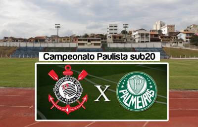 Campeonato Paulista sub-20: Palmeiras e Corinthians jogam no Estádio Municipal de Caieiras no sábado