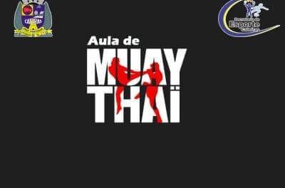 Secretaria de Esporte de Caieiras abre inscrições para treinos de Muay Thai no dia 1º de agosto