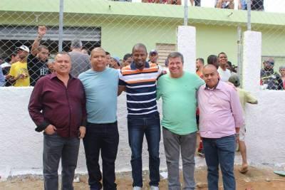 Jardim Nossa Senhora Aparecida ganha novo campo de futebol