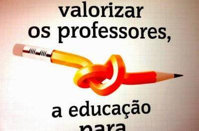 Valorizar o Professor