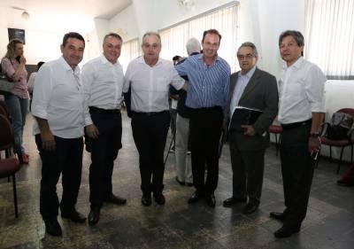 Hamamoto e Gersinho participam da primeira reunião do Conselho Consultivo da Sub-Região Norte